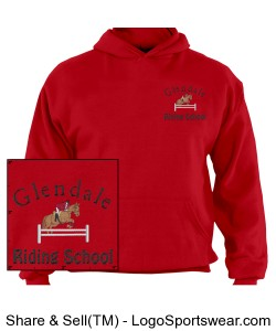 GRS Adult Dri POWER Pullover Hooded Sweatshirt Design Zoom